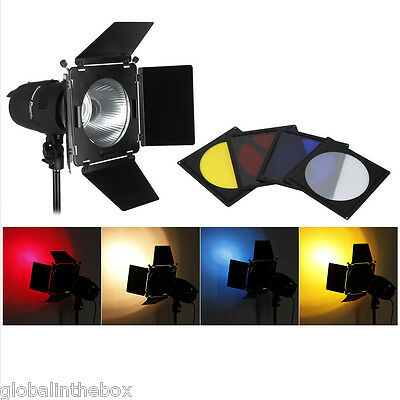 900W Flash Studio Lighting Lamp Kit Photography Strobe Portrait Set+2Background