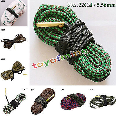 1 PCS New Snake Bore Cleaner G01-G14 GA Gauge Pistolet Rifle Nettoyage Laiton