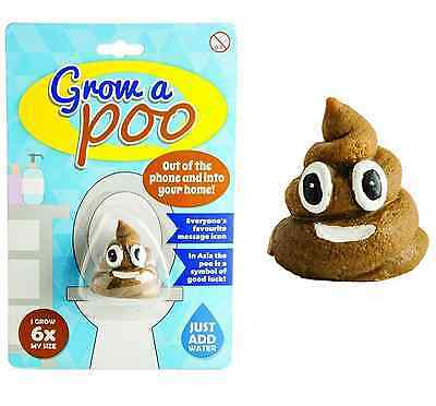 Grow Your Own Poo Emoji Novelty Gift Christmas Stocking Filler Girl or Boy