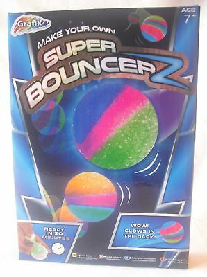 New Make Your Own Bouncing Bouncy Balls Craft Kit Set Grafix