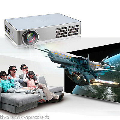 Mini DLP WIFI 3D Projecteur android 4.4 1280*800 Full HD Multimédia Home Cinéma