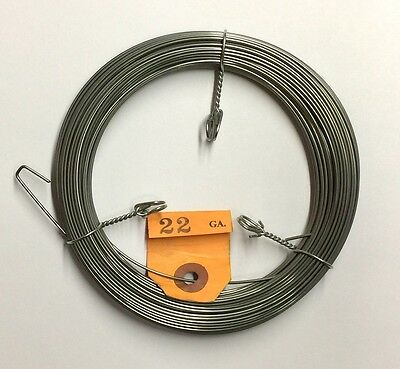 """1/2 pound (about 78 ft) coil Roslau #22 gauge (.049"""") piano wire/string"""