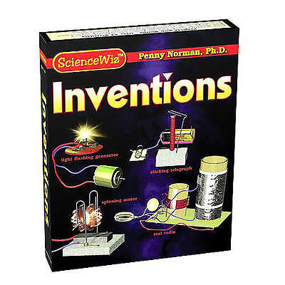 ScienceWiz Inventions science kit and book!