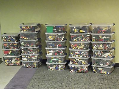 1000 + Lego Pieces Blocks Brick Parts Random Lot Assorted Mixed Genuine LEGOs