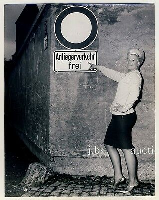 AUGSBURG Bordellgasse / Prostitution / Hasengasse * Vintage 50s SEUFERT Photo