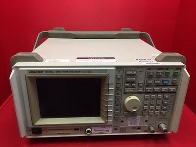 ADVANTEST Spectrum Analyzer, R3265A  100Hz to 8GHz S/N 55060131