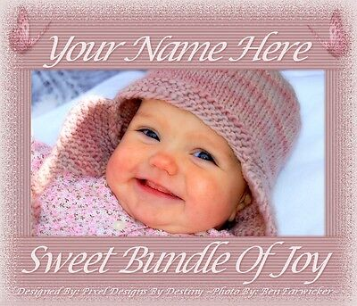 ~Bundle Of Joy Reborn Baby Auction Template With/without Music & Free Logo~~Doua