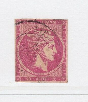 A3P1 Greece 1880-82 20l used #89