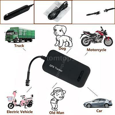 Realtime GPS Tracker Car Motorcycle Tracking Device System GPRS GSM Locator S2A4