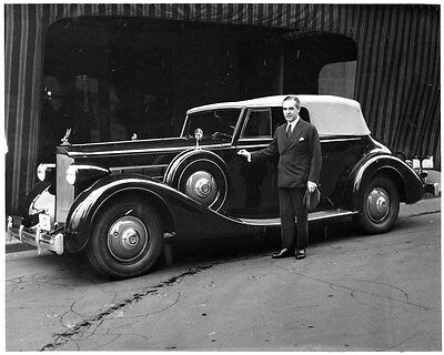 1935 Packard Eight Victoria ORIGINAL Factory Photo oad8447