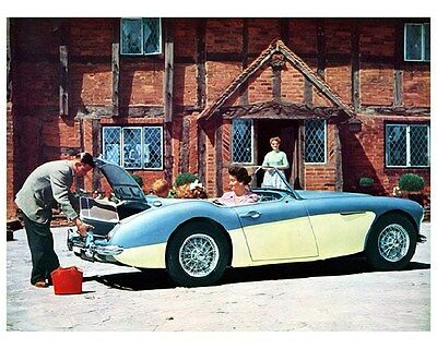 1958 Austin Healey 100-6 Factory Photo ca6013