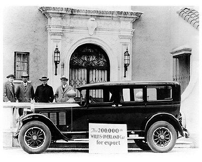 1927 Willys Knight Factory Photo ca6035