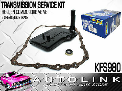 Trans Automatic Transmission Filter Kit Suit Holden Commodore Ve 6.0L V8 6 Speed