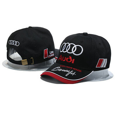 Genuine Audi Racing Cap Hat Baseball  Car A3 A8 A6 S4 Sq5 Quattro A1 Q7 Q5 Q3 A3