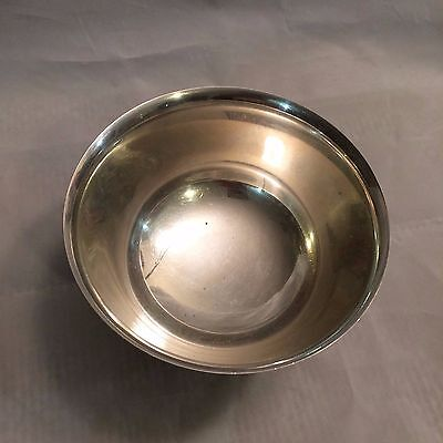 Vintage Webster Wilcox International Silver Co Silver Plate Trophy Bowl