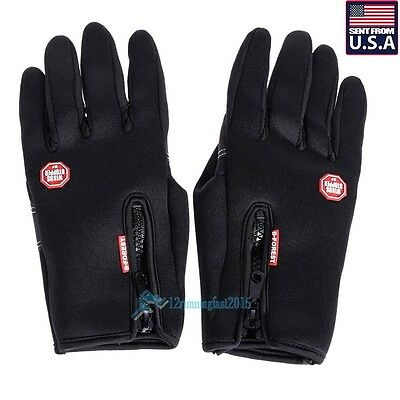 Waterproof Men Women Winter Ski Warm Gloves Motorcycle Touch Driving Gloves Gift