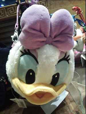 ♡Japan Edition♡ Tokyo Disney Resort Face Pass Case Daisy Plush Doll Very Rare