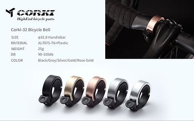 Alloy CNC 31.8mm&22.2mm Bike Bell Horns For Road Bicycle MTB Mountain Bike