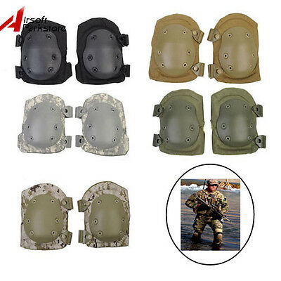 Airsoft Tactical Paintball Soft Knee Protective Pads Military Army Skate Cycling