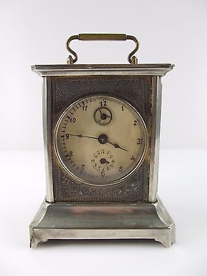Vintage Antique Carriage Clock Desk Mantel Alarm Unknow Label