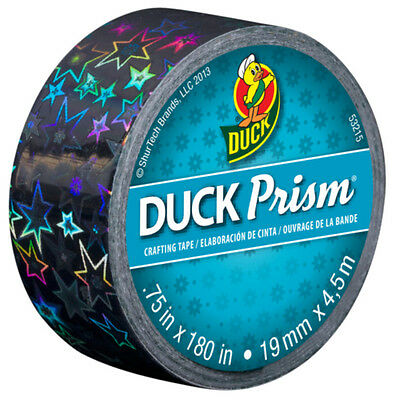 Duck Brand Prism Mini Crafting Tape Holographic Prismatic Effect Stars