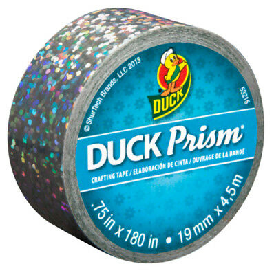 Duck Brand Prism Mini Crafting Decorating Tape Holographic Effect Lots of Dots