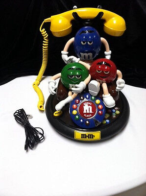 M &M Telephone  M & M's Animated Talking Novelty  3.Characters Move & Talk