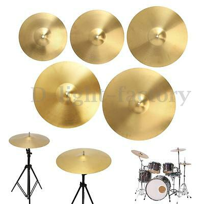 "12"" 14"" 16"" 18"" 20"" Size Splash Ride Crash Highhat Cymbal Percussion Drum Brass"