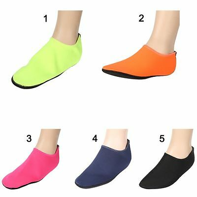 Fashion Skin Shoes Water Shoes Socks Yoga Exercise Pool Beach Swim Slip On Surf