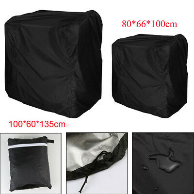 BBQ Cover Rain Dust Durable Waterproof Outdoor Barbecue Grill Protector 2 size