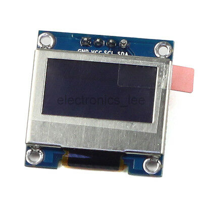 0.96'' SPI IIC Serial OLED Display 128*64 LCD Module with Shield for Arduino