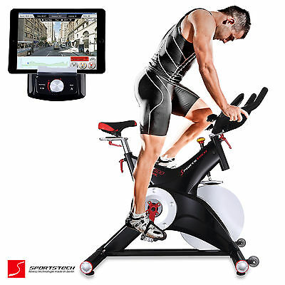 Premium Indoor Cycle Smartphone APP Trainieren / Spin Speed Bike Fitness SX500