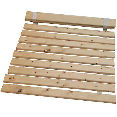 "Wooden Bed Slats -Replacement Slats For Double Bed 4ft 6"" =136.5CM Free Delivery"