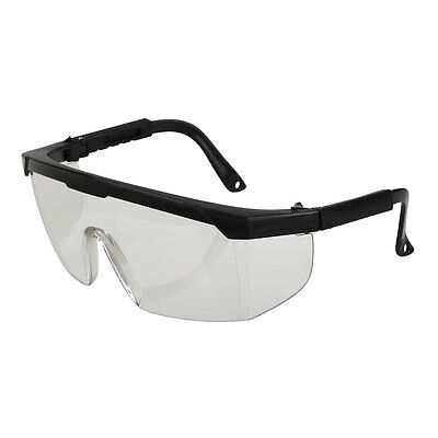 PC Safety Glasses Windproof Workplace Eyeswear Transparent lenses For Workers