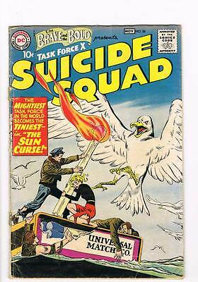 Brave & the Bold # 26  2nd appearance Suicide Squad !  grade 1.0 scarce book !