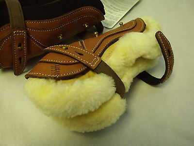 Kentaur Leather Tendon Boots - Removable sheepskin tendon boots - Pony Brushing