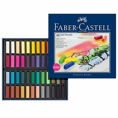 Faber-Castell Box of 48 Soft Pastels