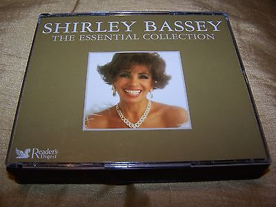 Shirley Bassey : The Essential Collection 3 Cd Box Set Goldfinger Big Spender