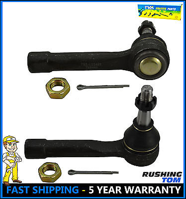 Fit Chevy GMC Silverado K1500 K2500 4WD 2 Front Left & Right Outer Tie Rod Ends