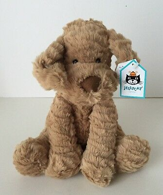 Jellycat Fuddlewuddle Puppy Medium - 9 Inches Plush Stuffed Animal New With Tag