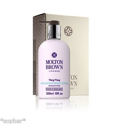 MOLTON BROWN Ylang Ylang Nourishing Body Lotion 300ml New in Gift Box w. Tissue