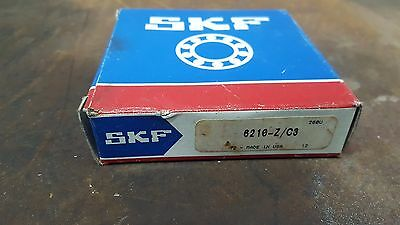 Lot of 2 NEW IN BOX SKF BALL BEARING 6210 - Z/C3