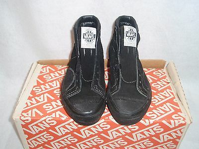 NOS VINTAGE 1980's VANS NATIVE AMERICAN OFF THE WALL SZ 5.5 SKATEBOARD BMX SHOES