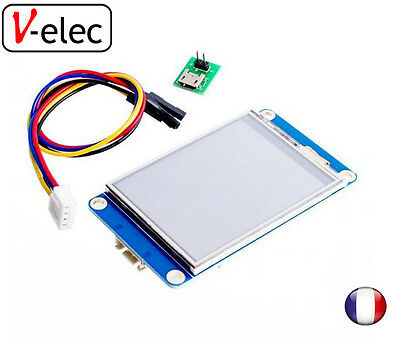 "1222# Nextion 2.4"" TFT 320 x 240 resistive touch screen UART HMI LCD Module"