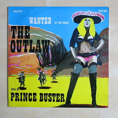 PRINCE BUSTER The Outlaw Sung By ... UK orig vinyl LP Fab Records BBLP 822 1969