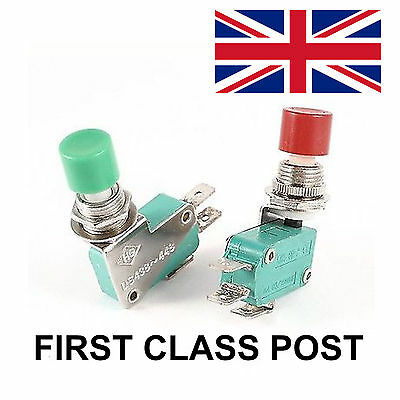 DS438 Micro switch SPDT momentary push button UK stock