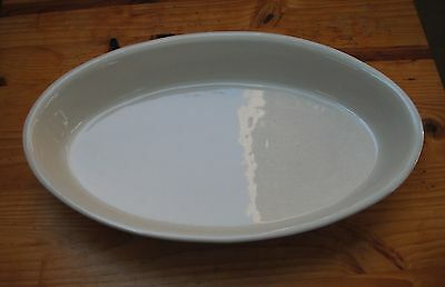Caleca Hand Painted Large Oval Baker Made in Italy-OLIVELLA 354