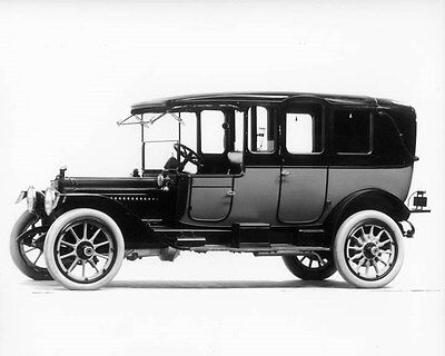 1914 Packard Imperial Limousine ORIGINAL Factory Glass Negative oad9242