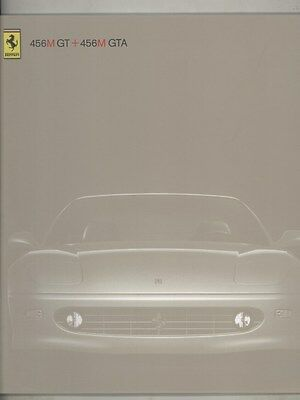 2003 Ferrari 456M GT 456M GTA Prestige LAST Brochure English Italian ww4298