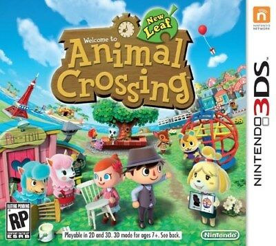 Nintendo 3Ds Game Animal Crossing New Leaf Brand New And Sealed